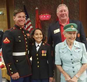 Youngest and Oldest Marines