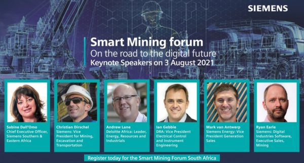 Siemens Smart Mining Africa Forum to bring digital innovation to the fore