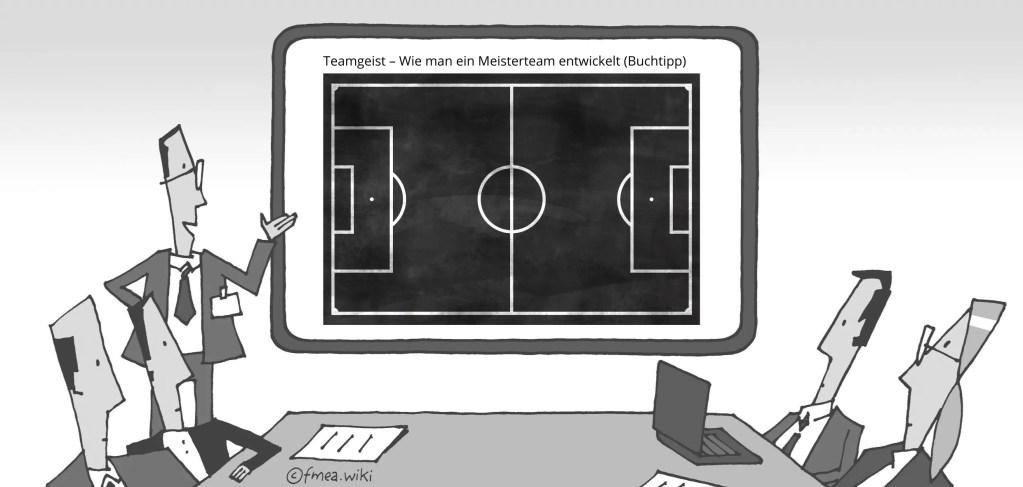 Teamgeist – Wie man ein Meisterteam entwickelt Buchtipp
