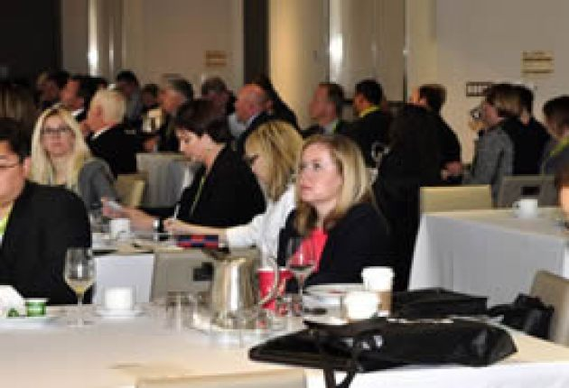delegates watching