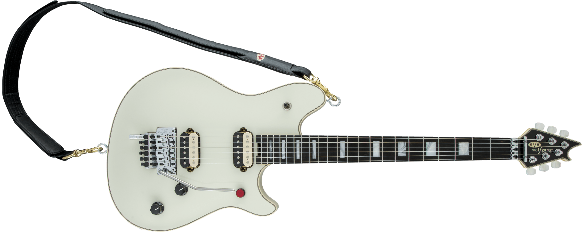 Wolfgang® USA Edward Van Halen Signature, Ebony Fingerboard, Ivory