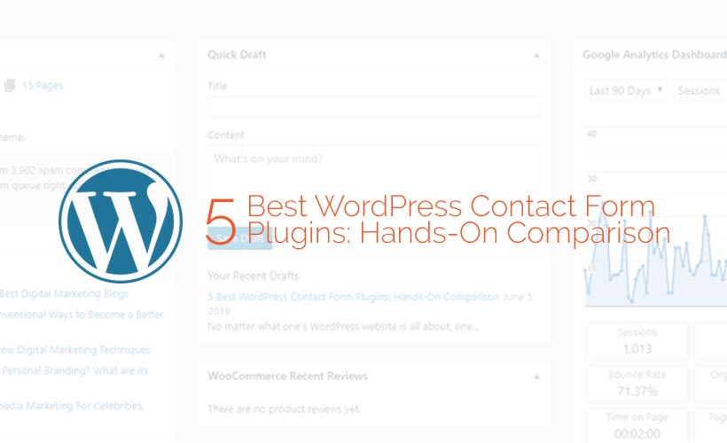 5 Best WordPress Contact Form Plugins: Hands-On Comparison 1