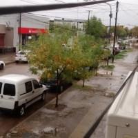 General Villegas│La cantidad de lluvia caída hasta el momento es de 62mm
