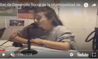 Sec de Desarrollo Social de la Municipalidad de GV F Martirene  en TMI(video)