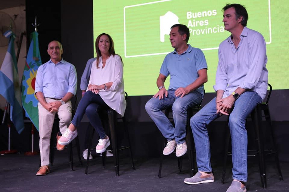 MARÍA EUGENIA VIDAL ENCABEZÓ UNA REUNIÓN DE MESAS EDUCATIVAS desde Gral Villegas asistieron directivos