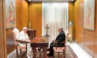 """Fernández, sobre el Papa: """"Como siempre hace, me expresó su idea de apoyarnos en todo lo que pueda"""""""