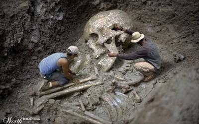 Aparecen imagenes de gigantes en Tapalpa, GRAN MENTIRA