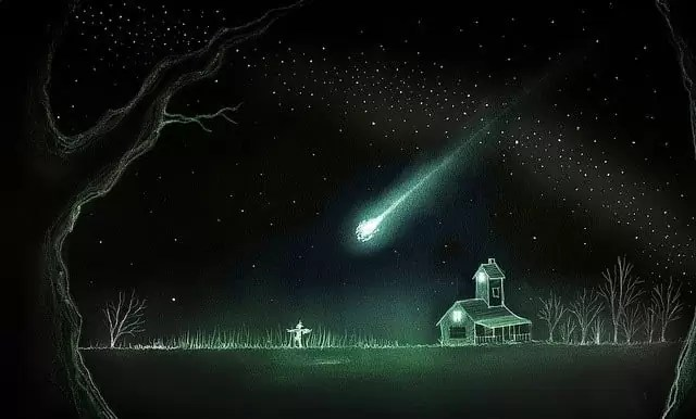 Arkham y el color que cayo del cielo, Lovecraft