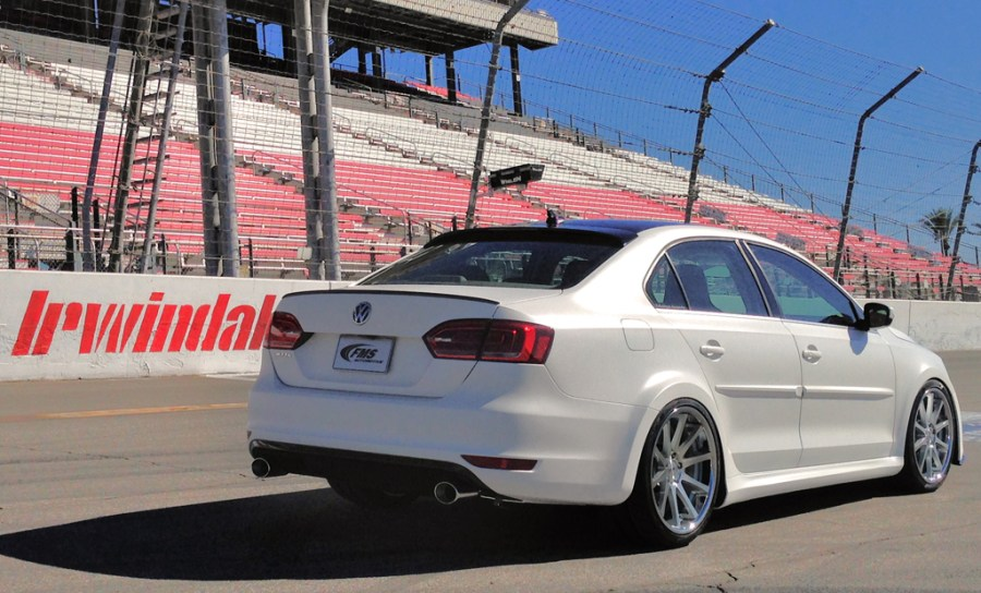 FMS Automotive brings back performance and heritage to SEMA 2013     Performance Jetta Rear