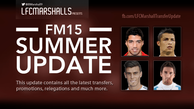 LFCMarshall's FM15 Transfer Update including MLS (13.01.15)