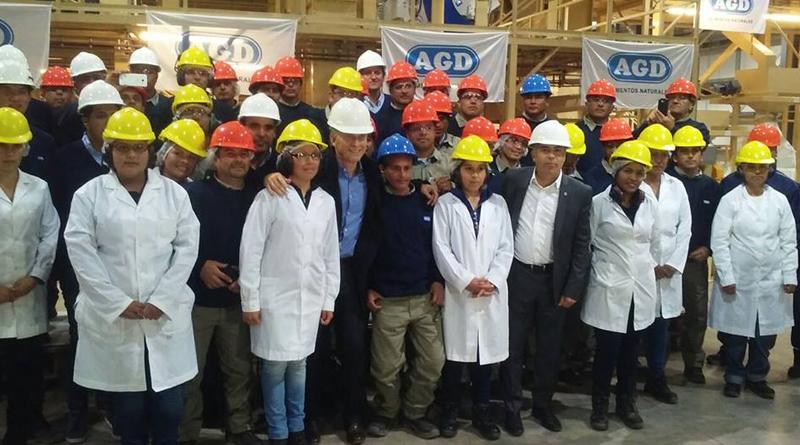 AGD Inauguró Planta Procesadora De Almendras