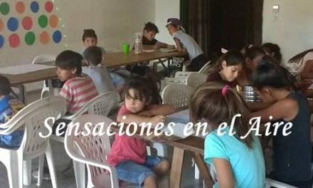 Clases de apoyo en el SUM de Barrio Argentino