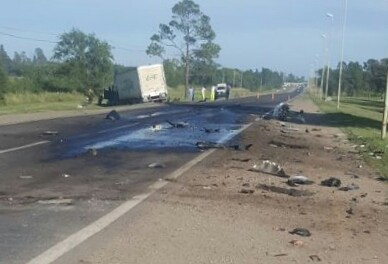 Accidente fatal en ruta 36