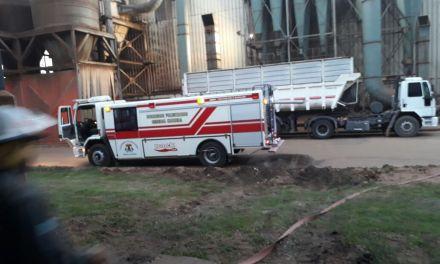 Incendio de Cotagro en el parque industrial