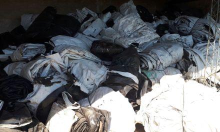 Bomberos | Once mil kilos de silobolsa para reciclado