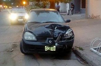 Alcoholizado choca a otro vehículo