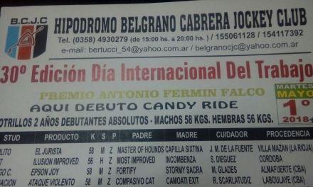 TRADICIONAL ENCUENTRO HÍPICO EL 1 DE MAYO EN EL HIPÓDROMO DEL B.C.J.C