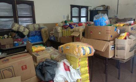 2.300 kg de Alimentos para La Simona -Campaña exitosa de Cabrera Solidaria