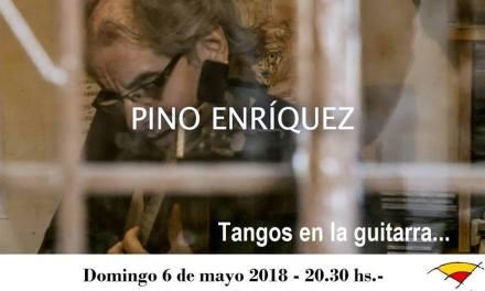 Tangos en la guitarra con Pino Enríquez en Fundación el Horno
