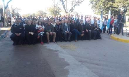 INTENDENTES DE LA REGIÓN ACOMPAÑARON EN LA CELEBRACIÓN DEL ANIVERSARIO DE GRAL CABRERA