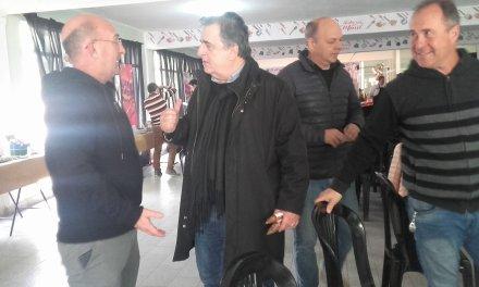 El Diputado Mario Negri, pasó por Sabores del Maní