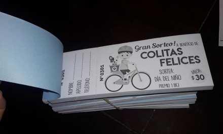 COLITAS FELICES SORTEA UNA BICICLETA