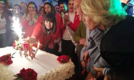 Cabrera festejó su cumpleaños 125