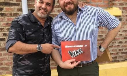 Jony Bisotto es parte de «La Voz» de TELEFE
