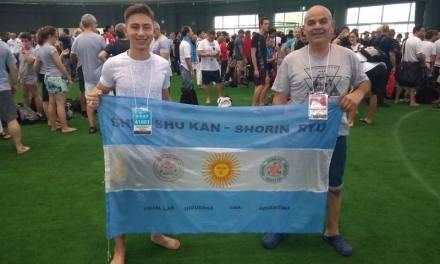 Delegación Argentina de Karate En Okinawa 2018