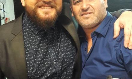 Jony Bisotto participando de otra  Gala de La Voz