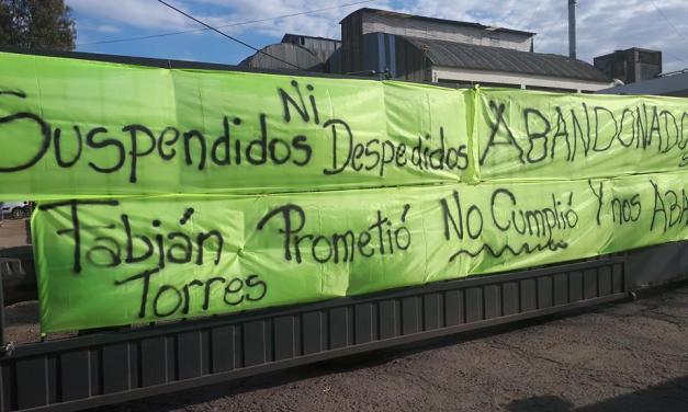 OLCA: «Ni suspendidos, ni despedidos ABANDONADOS»