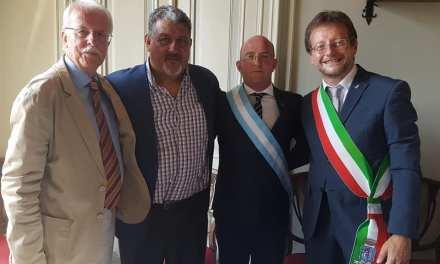 El Intendente Marcos Carasso declarado Ciudadano Honorario de San Maurizio Canavese (Italia)