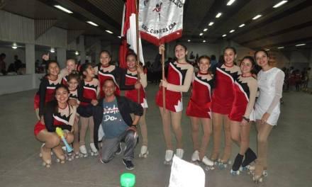 La Escuela Municipal de Patín Artístico se consagro campeón de la categoría B
