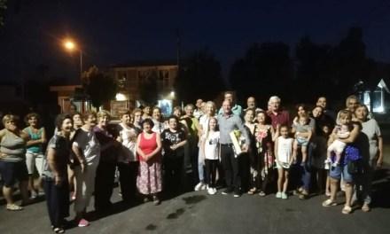 Cabrera – Inauguración obra de pavimento en Barrio Malvinas