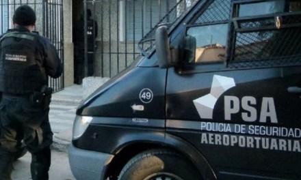 POLICIA  DE SEGURIDAD AEROPORTUARIA EN NUESTRA LOCALIDAD