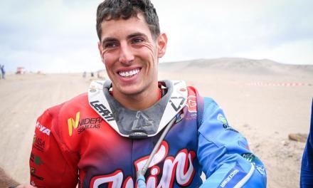 Nico Cavigliasso sigue con su racha triunfadora y también se llevó la 8ª Etapa de Cuatriciclos