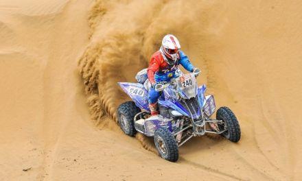 Nicolás Cavigliasso, campeón del Dakar en quads