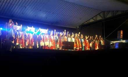 Nuestra Reina Zonal del Piemonte en   la  Fiesta nacional de la Familia Piemontesa de Luque