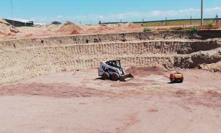 Construyen planta de biogas en el criadero de cerdos de Cotagro, sumará 1MW de energía al conectado nacional