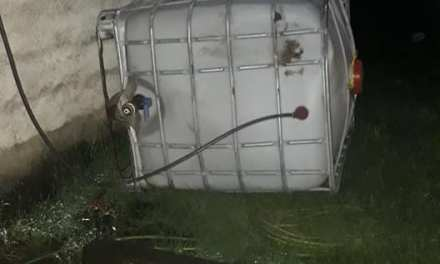 «Indignante» Les tiraron el Tanque de Agua en la canchita de Ateneo