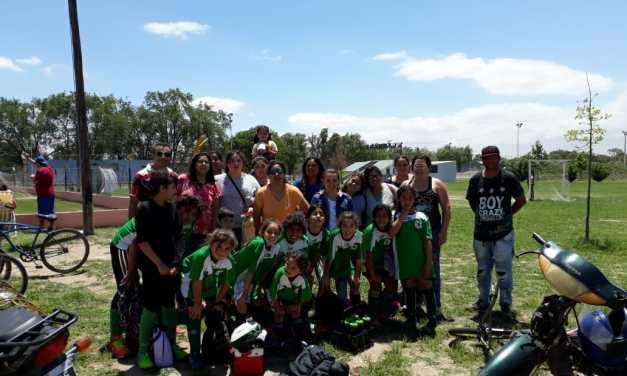 La Escuela Municipal de Fútbol Femenino inicia sus actividades