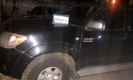 Cabrera- Detenido y secuestro de una Pick Up