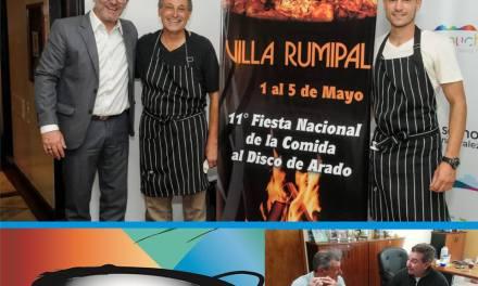 SE APROXIMA LA 11° FIESTA NACIONAL DE LA COMIDA AL DISCO ARADO EN VILLA RUMIPAL