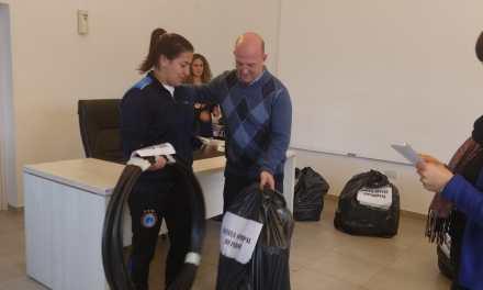 Instituciones y escuelas deportivas recibieron materiales deportivos  del  Municipio