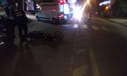 General Deheza. Accidente con lesionado