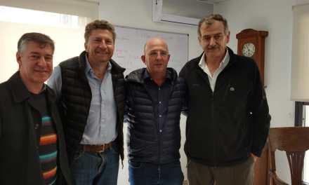 El Subsecretario de Lechería de la Nación se reunió con el Intendente y directivos de Cotagro