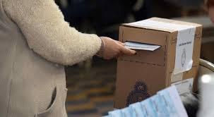 Cierre de comicios: Porcentaje de votantes que emitieron sufragio