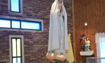 La imágen de la Virgen Peregrina llega a nuestra ciudad