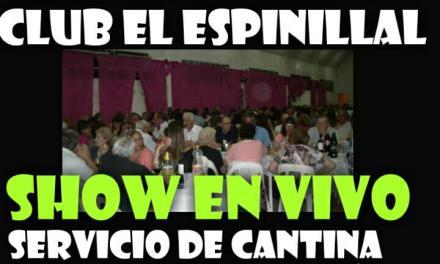 SE VIENE EL GRAN BAILE A BENEFICIO DE EL CLUB DE EL ESPINILLAL