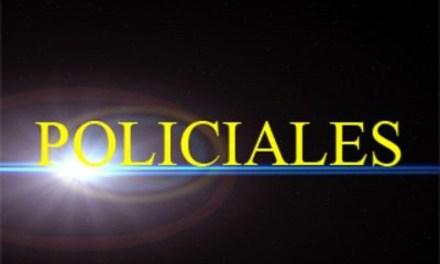 Policiales: Accidente y detención en estado de ebriedad en General Deheza